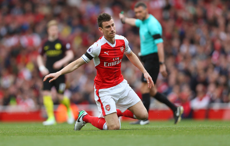 Koscielny - injury prone warrior