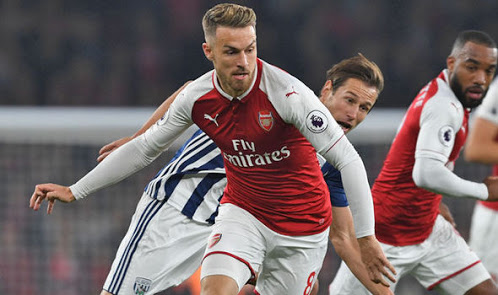 Ramsey showing his Welsh form last night