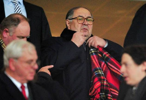 Usmanov the only thing standing between Arsenal and ruin.