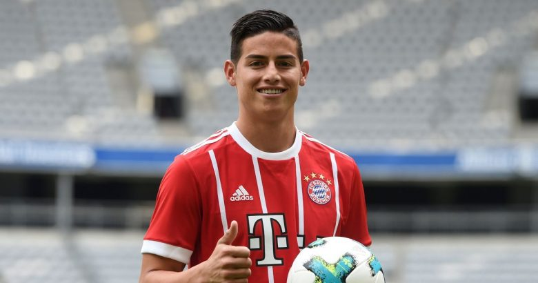 3585124bfaa James Rodriguez wants out of Bayern – Out with the Ozil and in with the New  Ozil?