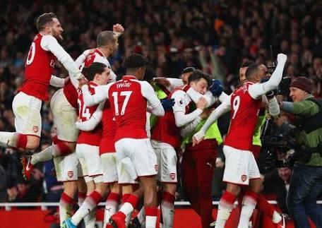 Gunners rejoice