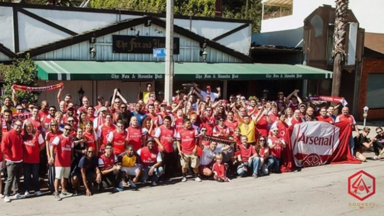 LA Gooners - gather at the Fox and Hound for 7am Kickoffs...
