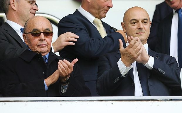 Lewis and Levy at Spurs