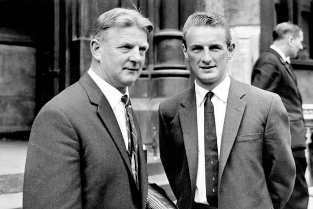 George at the High Court with PFA Secretary Cliff Lloyd