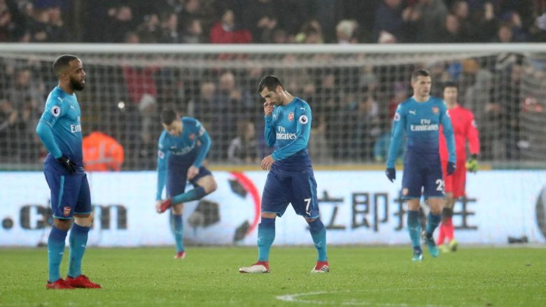 unhappy arsenal
