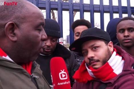 Arsenal Fan TV star, Troopz