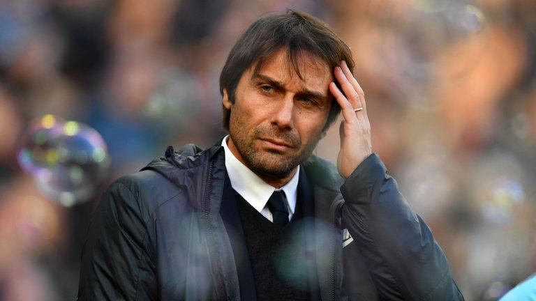 Chelsea's Conte under the kosh