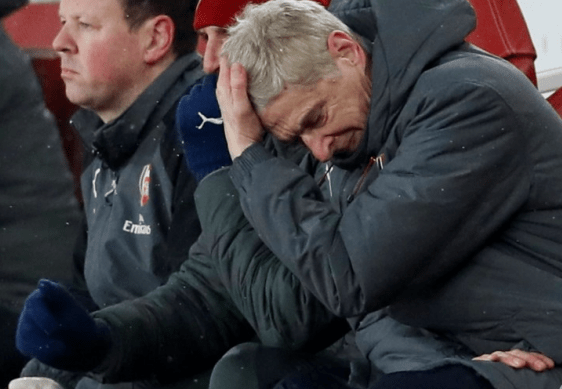 wenger crushed