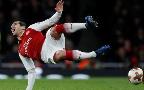 Mkhitaryan injury