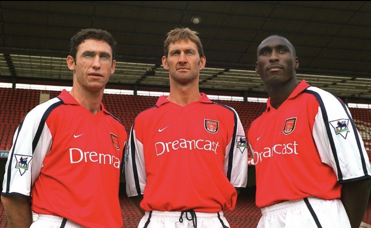 Three superb Arsenal centre backs