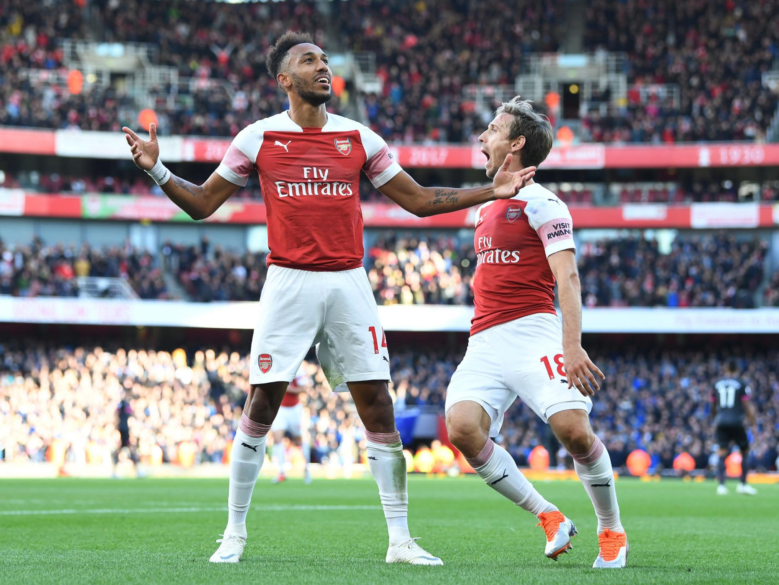 8f53d388be5 Arsenal 2-0 Everton  Gunners stick it to Toffees