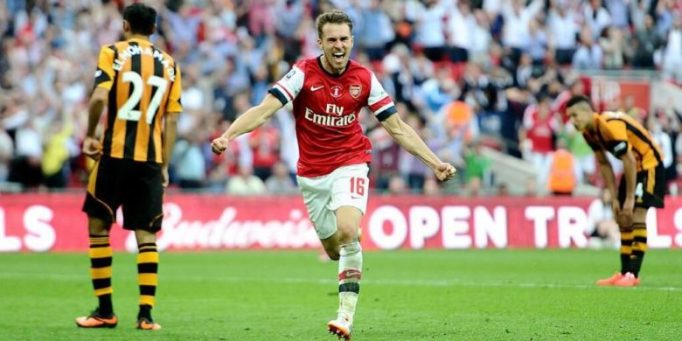 One of his greatest Arsenal moments