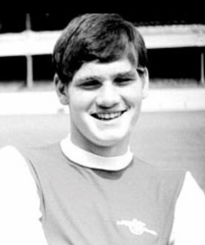 A young fresh faced Pat Rice