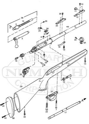Remington 700 Muzzleloader Parts and Schematic | Numrich