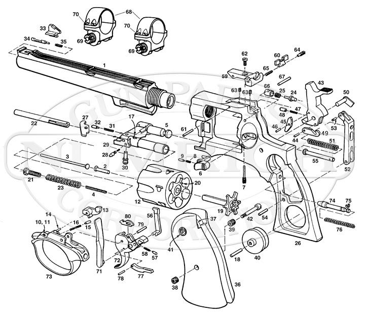 Parts Ruger Schematics List And