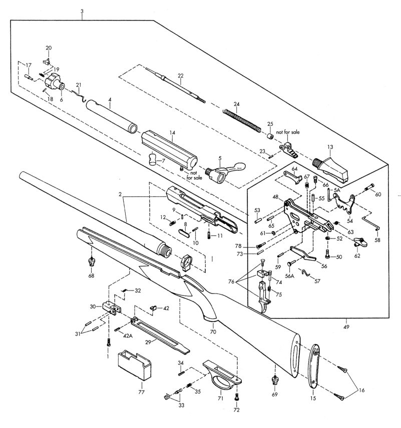 Schematic Browning Bolt