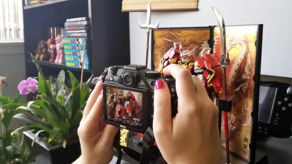 photographing_gunpla