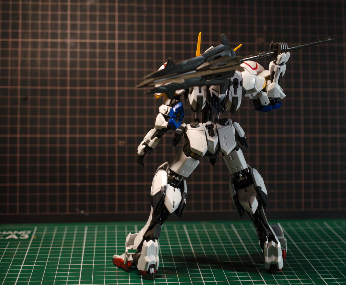 Review Mg 1 100 Gundam Barbatos Gunpla 101