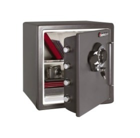 SentrySafe SFW123DSB 1.23 Cubic Feet Combination Fire-Safe