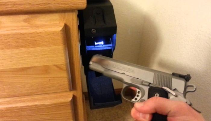 gun safe installation