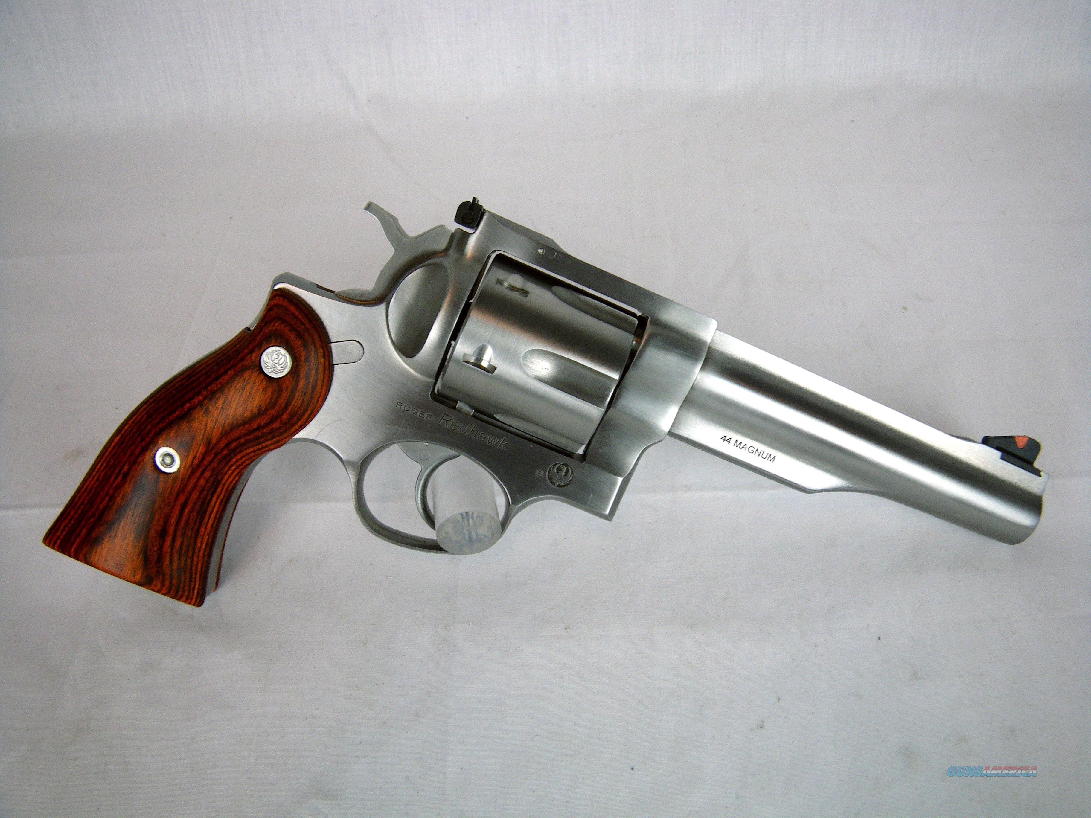 Ruger Redhawk 44 Mag 5 5 Stainless Wood New 5 For Sale