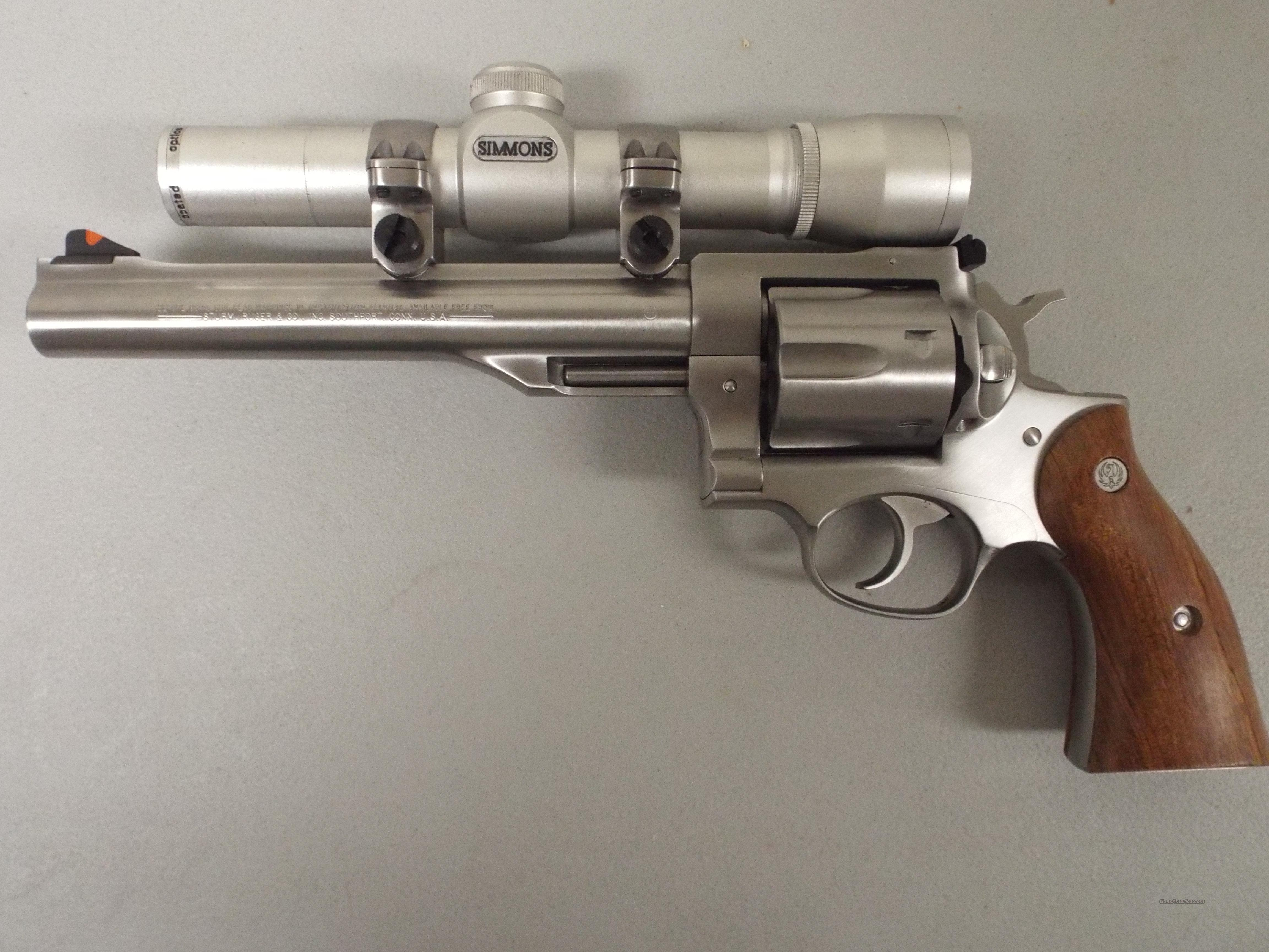 Ruger Redhawk 44 Mag With Scope For Sale