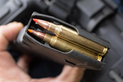 One of the limitations for caliber swaps is the length of the  standard magazine and magazine well.