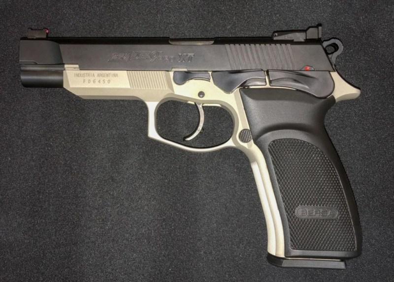 Bersa's Thunder 9 Pro XT competition pistol.