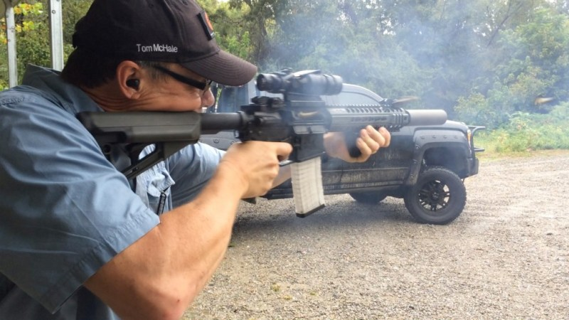 This Beck Defense Subsonic AR isn't supposed to work, but it does.