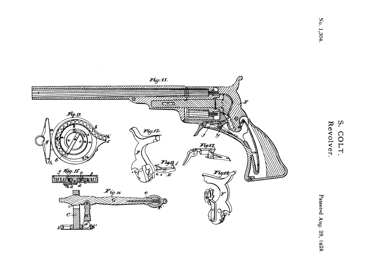 Cowboy Time Machine Colt S First Revolver The Paterson