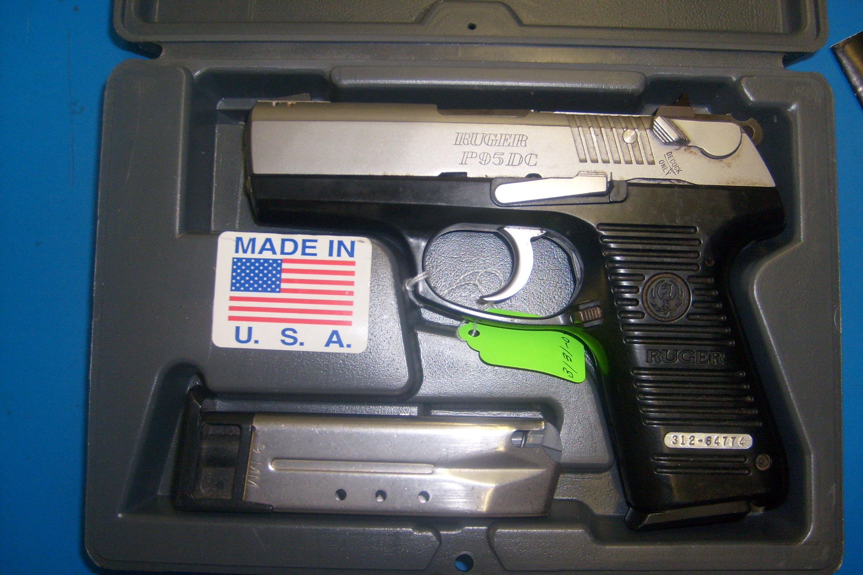Ruger P95dc 9mm Caliber For Sale