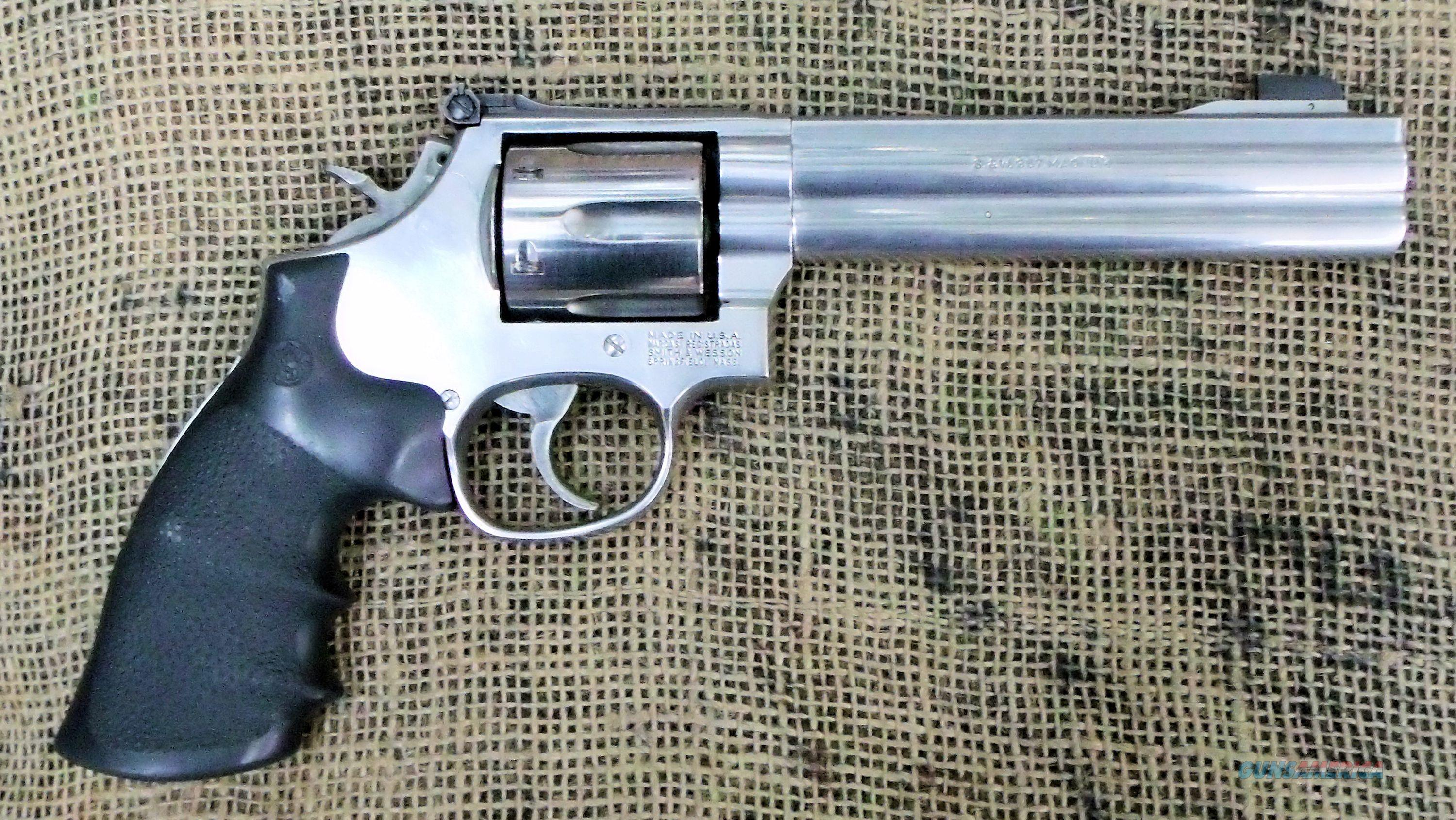 357 686 Wesson Ported Smith And