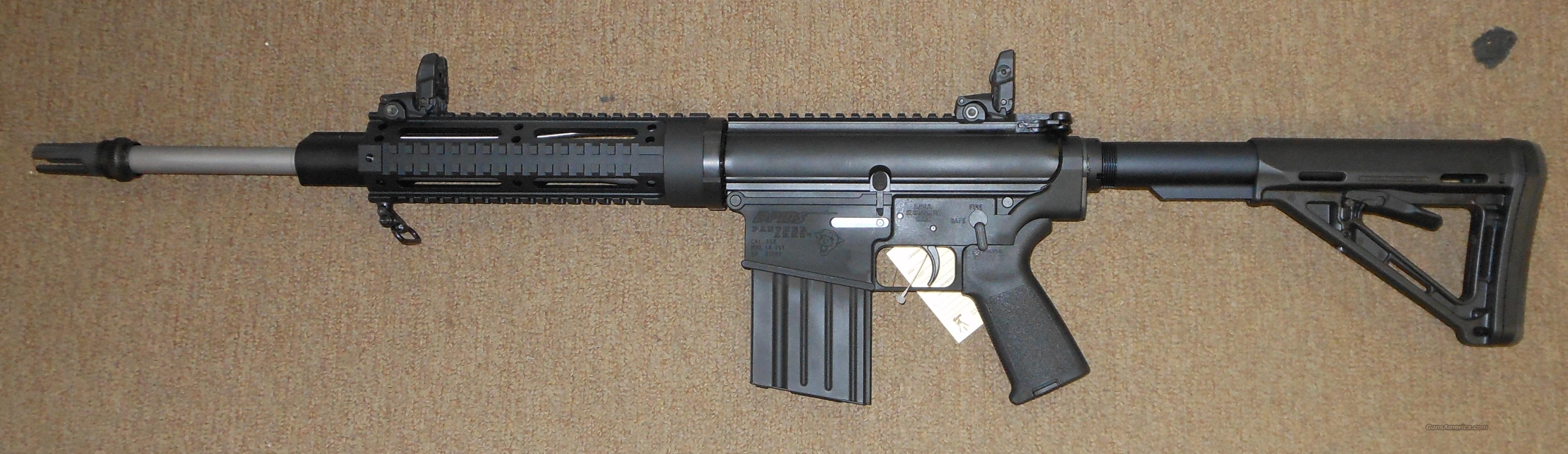 Win 308 62 Panther Rifle Dpms Stainless 24 Barrel Semi Nato Bull Auto 7 308 Lr
