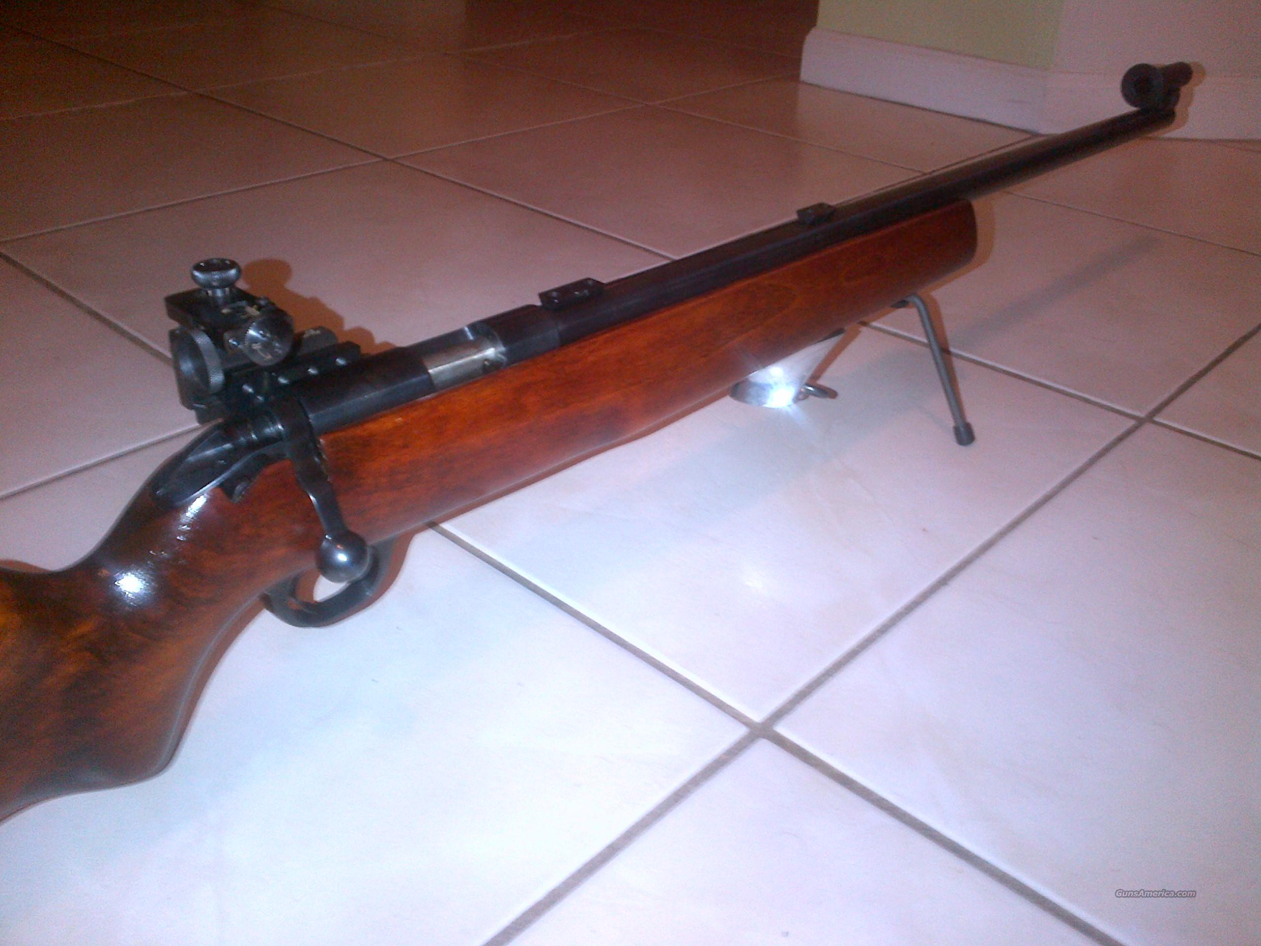H Amp R M12 Target Rifle W Redfield Palma Sights For Sale