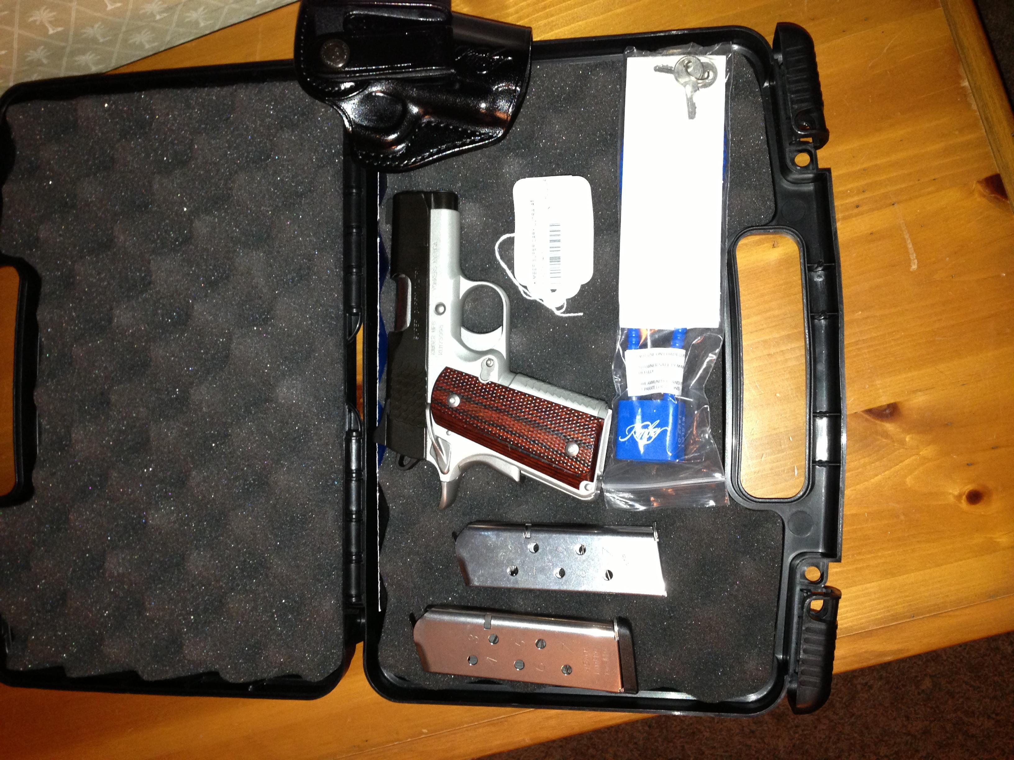 Kimber Ultra Compact 45 Caliber