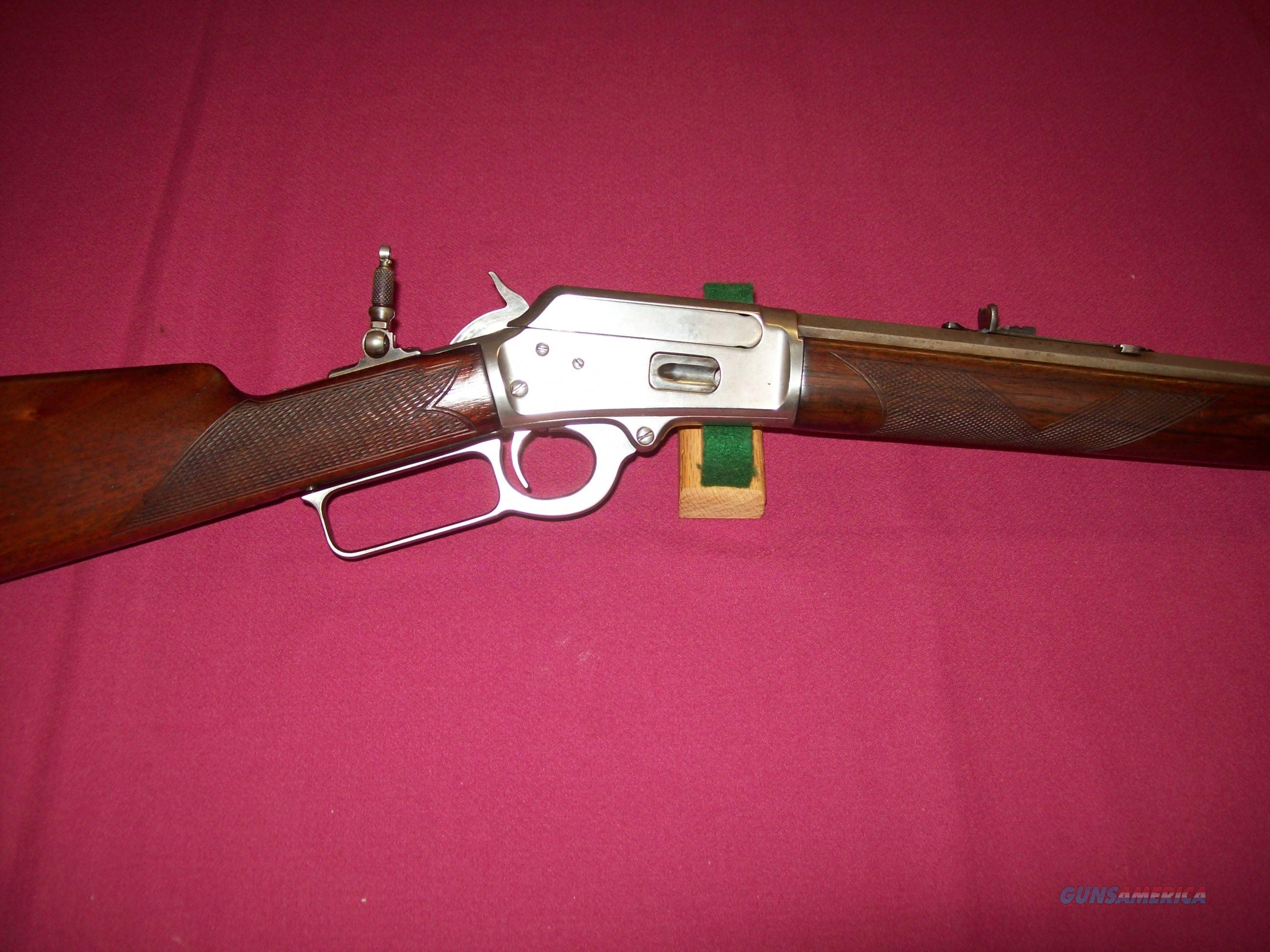 Marlin Model 38 40 Rifle Antique For Sale