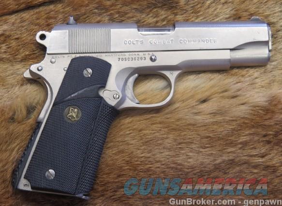 70bs21711 Combat 45 Seriel Colt Commander