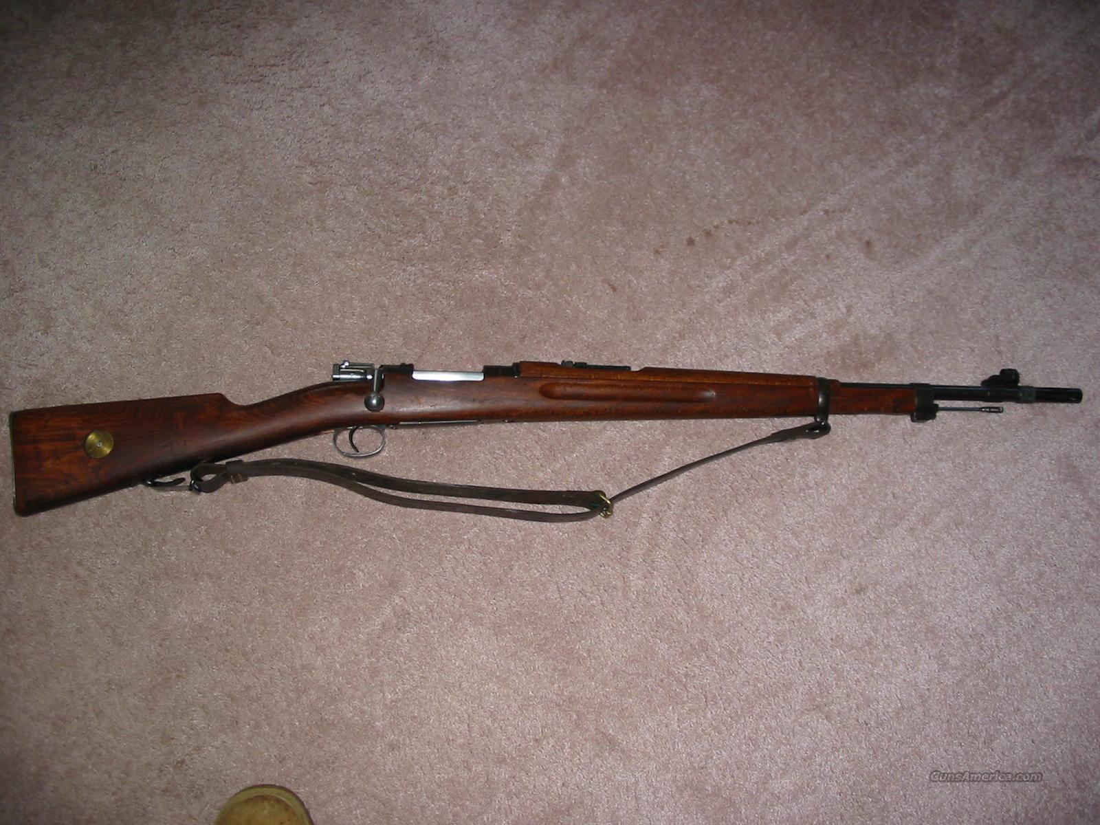 Swedish M38 Husqvarna Mauser For Sale