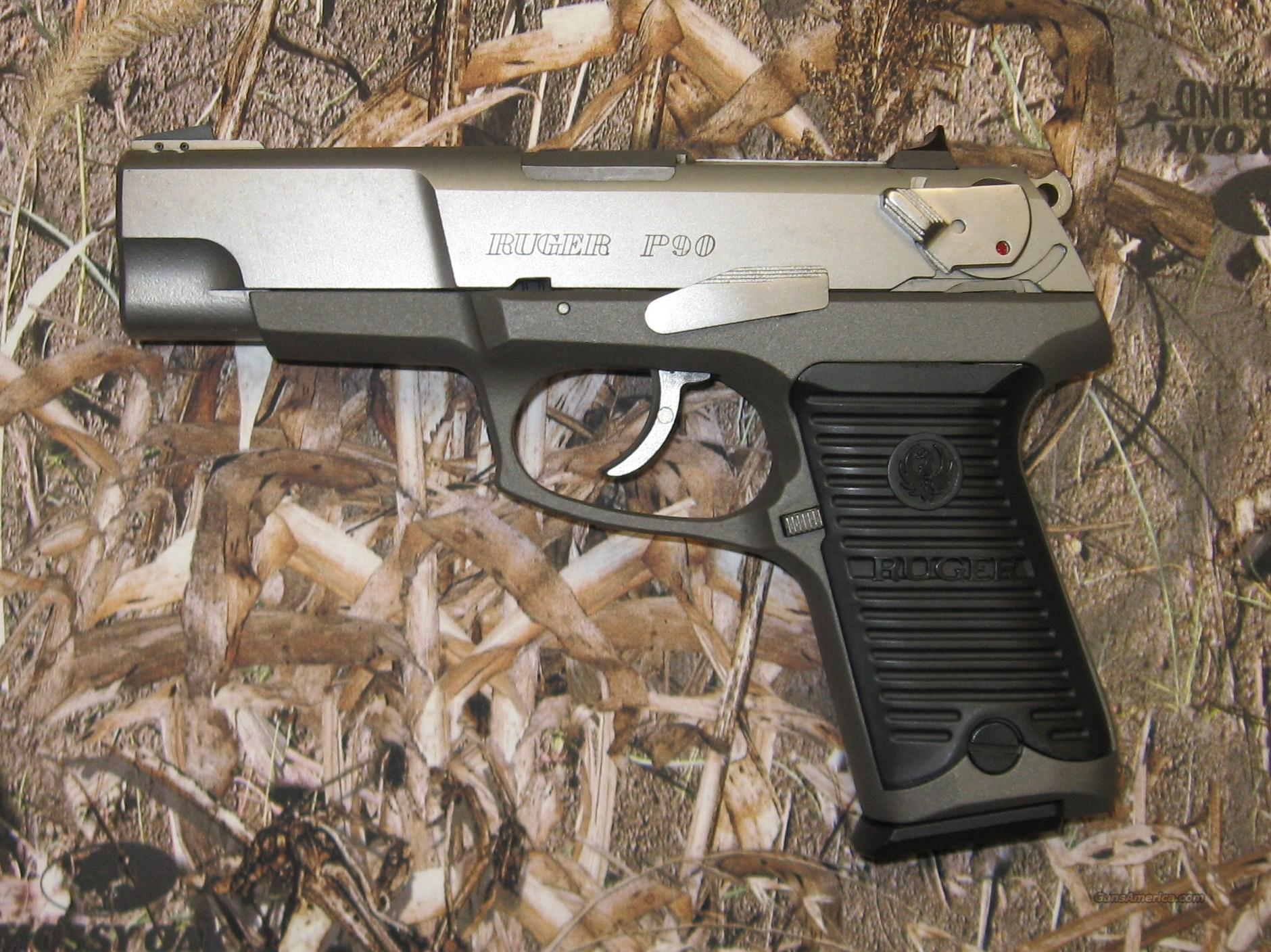 Ruger P90 Stainless Used For Sale