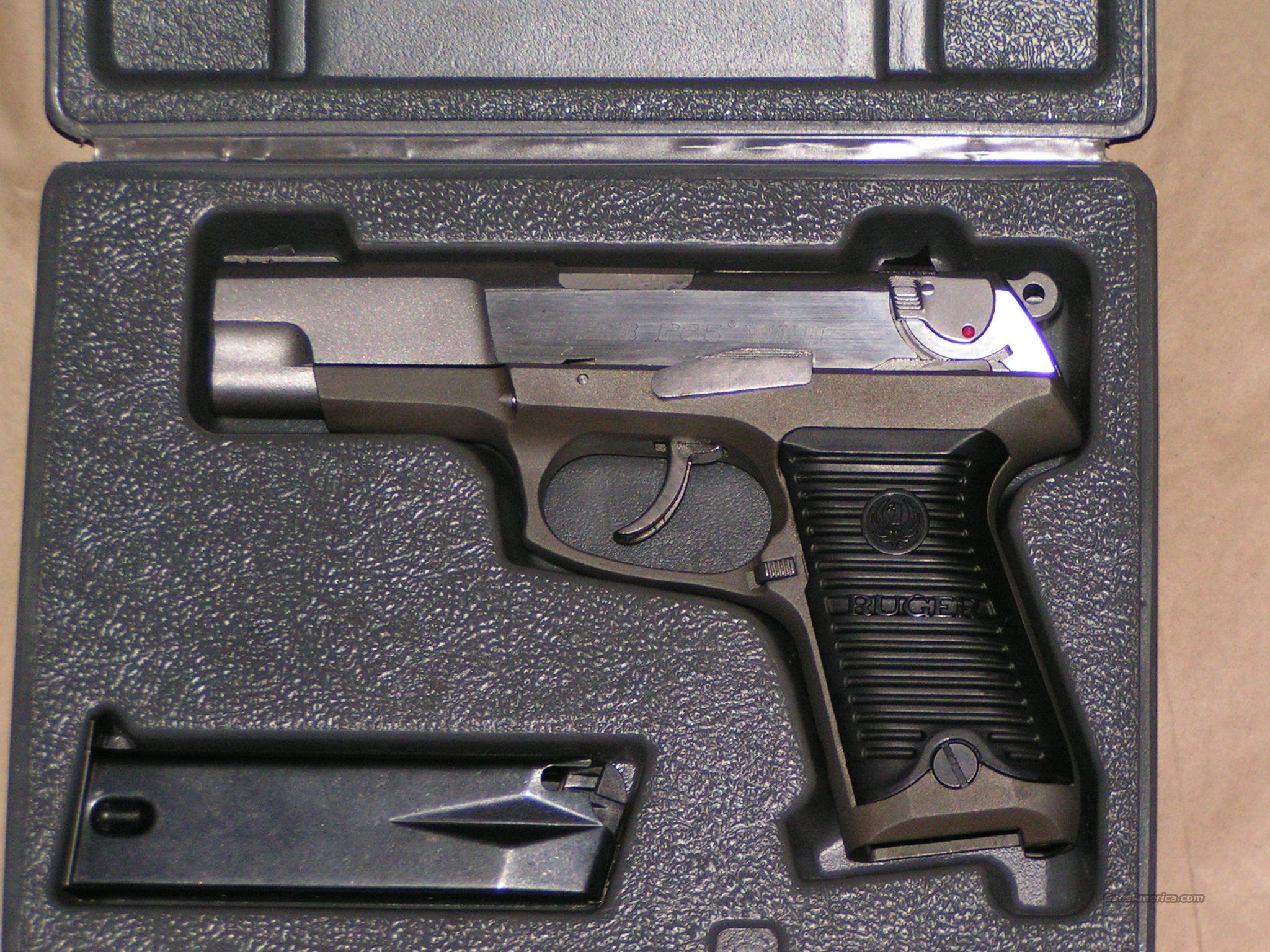 Ruger P85 Mkii 9mm Reduced For Sale