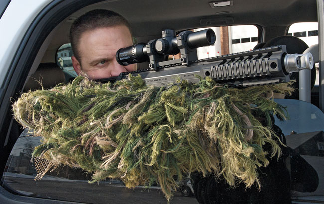 The overall length of the Covert makes it shorter than most carbines with 16-inch barrels. Combine this fact with its far-reaching accuracy, and this system enables police departments to expand their tactical capabilities.