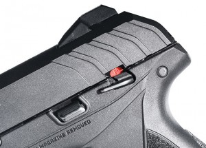 Cocking serrations met expectations, but the external safety lever is so small to engage that it required intentional effort to operate.
