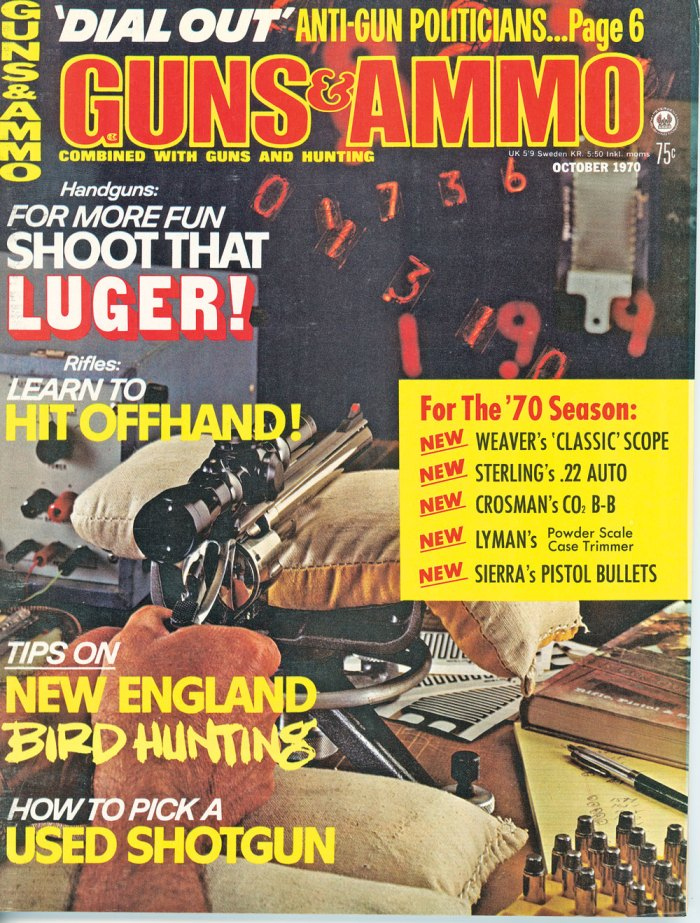 October 1970 Issue of Guns & Ammo