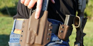 Gearing up with the Liion Defense OWB holster