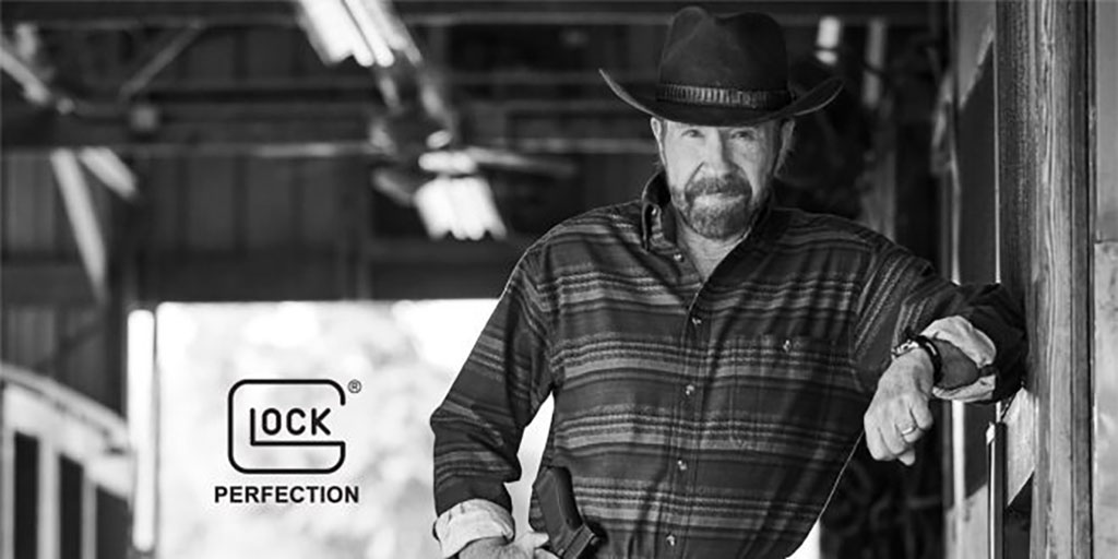 Chuck Norris and Glock
