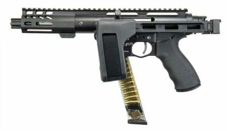 TAC9 Pistol Folded