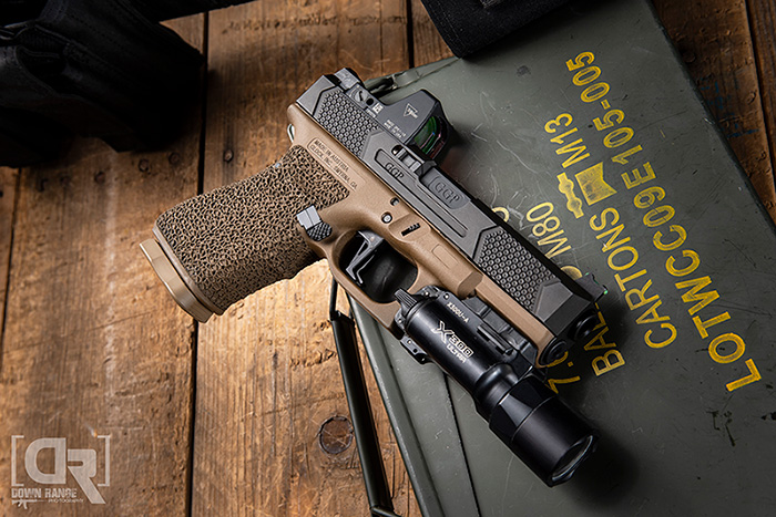 Weapon-Mounted-Light-Down-Range-Photography