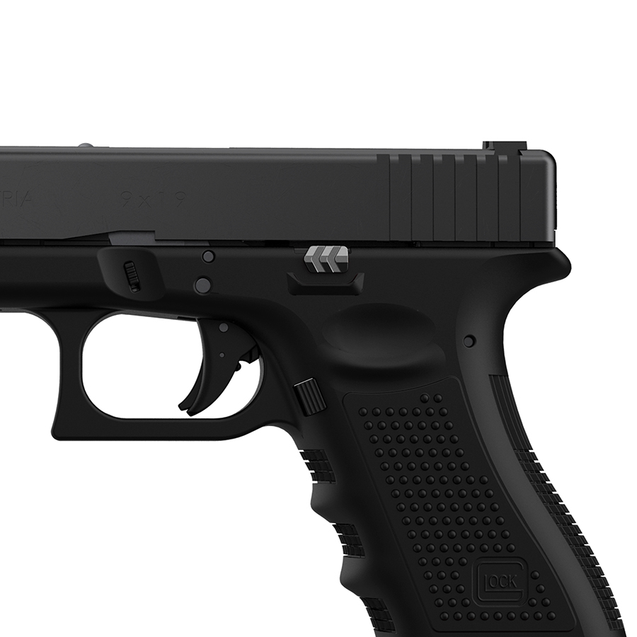 Tyrant-Designs-CNC-Glock-Extended-Slide-Release-Grey