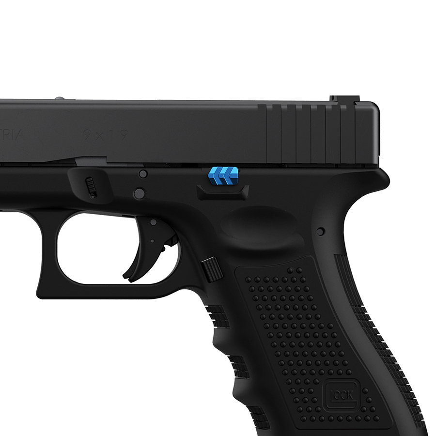 Tyrant-Designs-CNC-Glock-Slide-Release-Blue