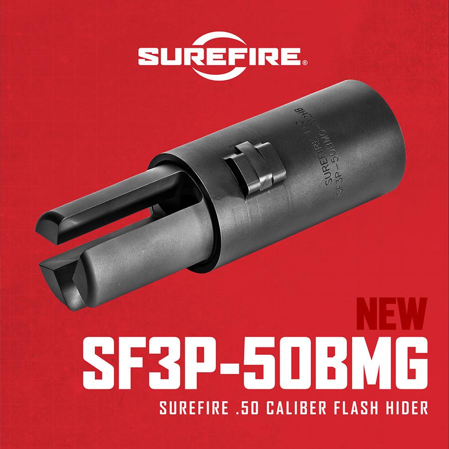 Surefire SF3P-50BMG Ma Deuce Flash Hider